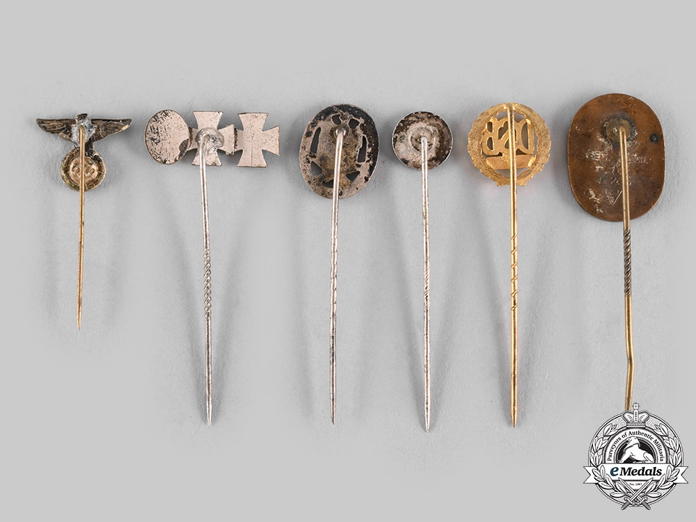 Germany, Third Reich. A Lot of Stick Pins
