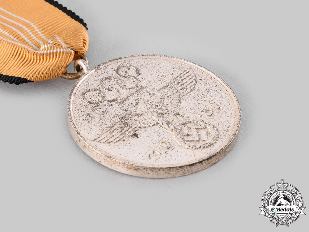 Germany, Third Reich. A German Olympic Commemorative Medal with Case