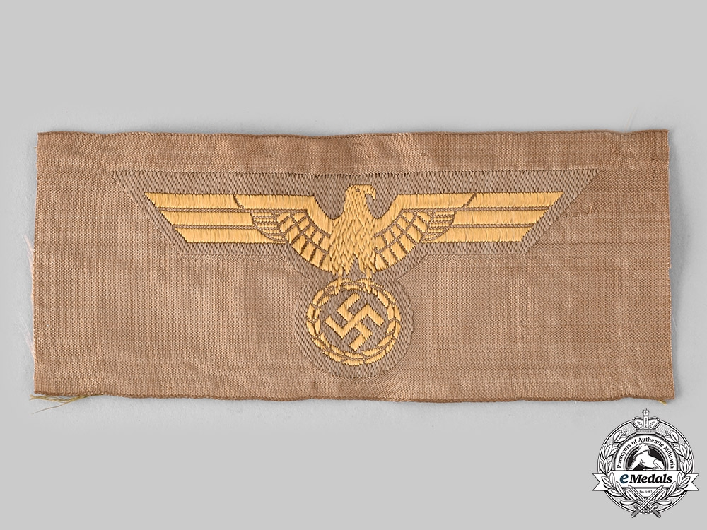 Germany, Kriegsmarine. A EM/NCO's Tropical Breast Eagle