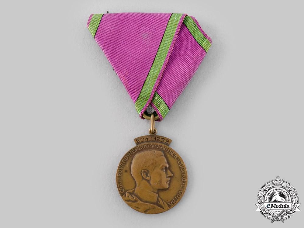 Saxe-Coburg and Gotha, Duchy. A 1932 Medal for the Wedding of Princess Sybilla