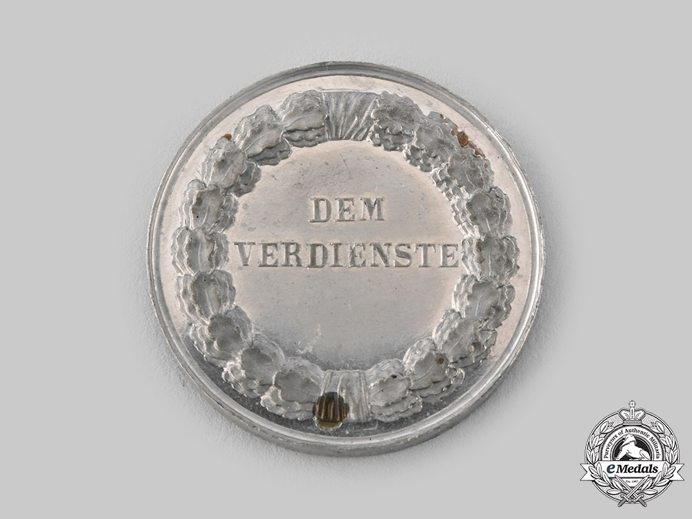Saxe-Weimar-Eisenach, Grand Duchy. A Silver Merit Medal, Museum Exhibition Example