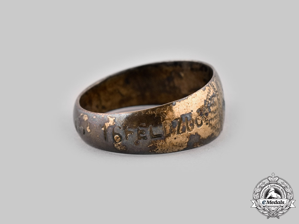Germany, Imperial. A Patriotic Ring, c.1915