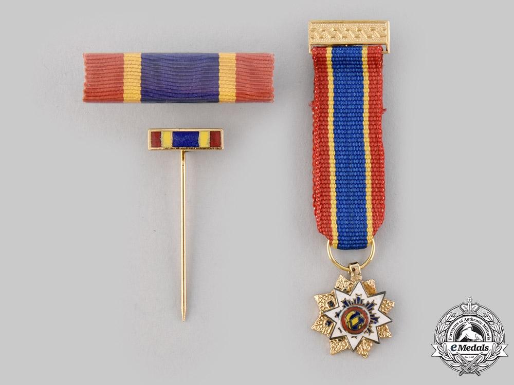 China, Republic. An Order of the Resplendent Banner, V Class Commander, c.1935