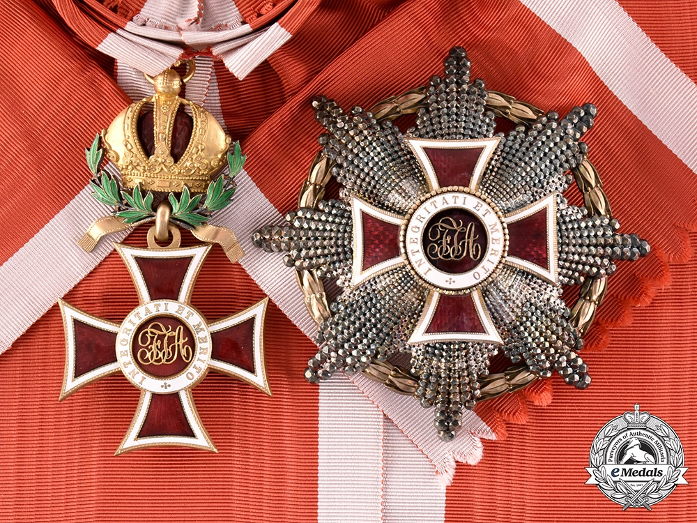 Austria, Imperial. An Order of Leopold, Grand Cross with War Decoration (Rothe Copy)