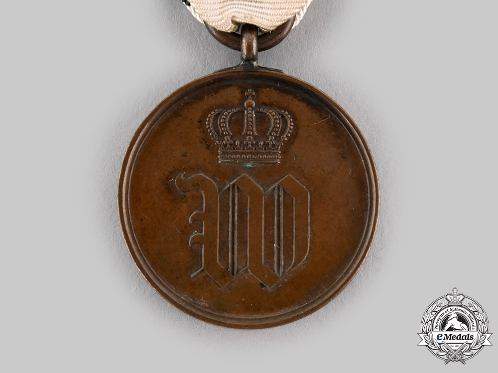 Prussia, Kingdom. A Medal Commemorating the Assassination Attempt on Kaiser Wilhelm I, c.1878