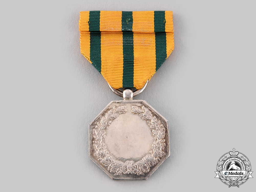 Luxembourg, Grand Duchy. An Order of the Oak Crown, II Class Silver Grade Medal, c.1945