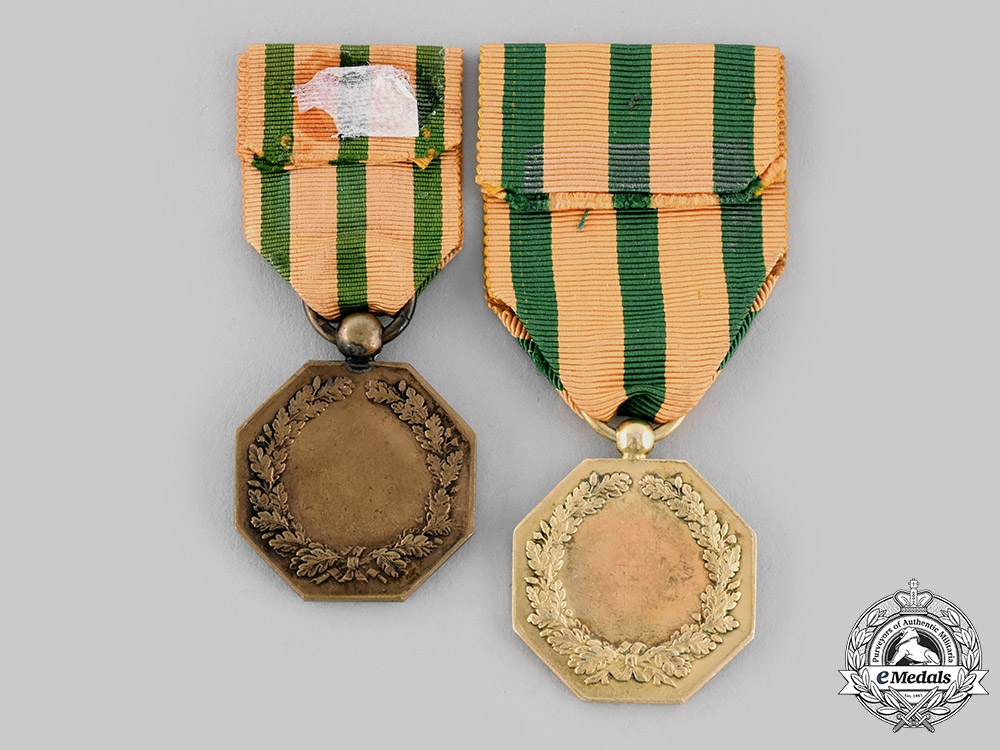 Luxembourg, Grand Duchy. An Order of the Oak Crown, I and III Class Medals