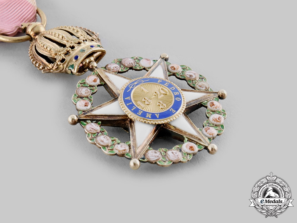 Brazil, Empire. An Order of the Rose, Knight, c.1880
