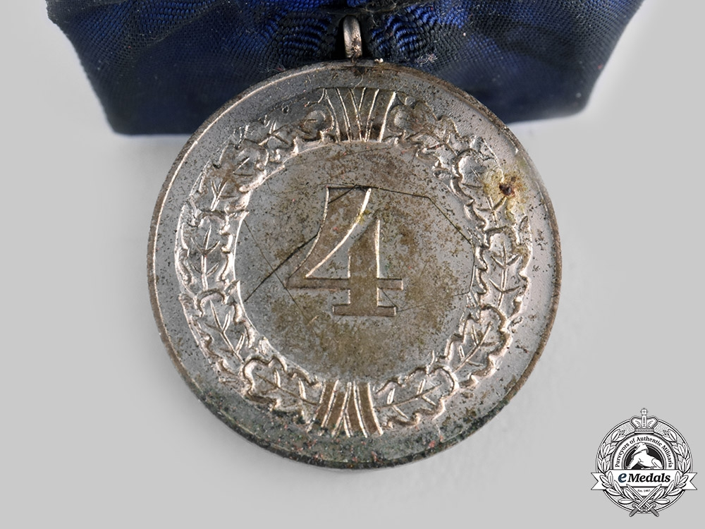 Germany, Luftwaffe. A Wehrmacht 4-Year Long Service Medal, Luftwaffe Issue