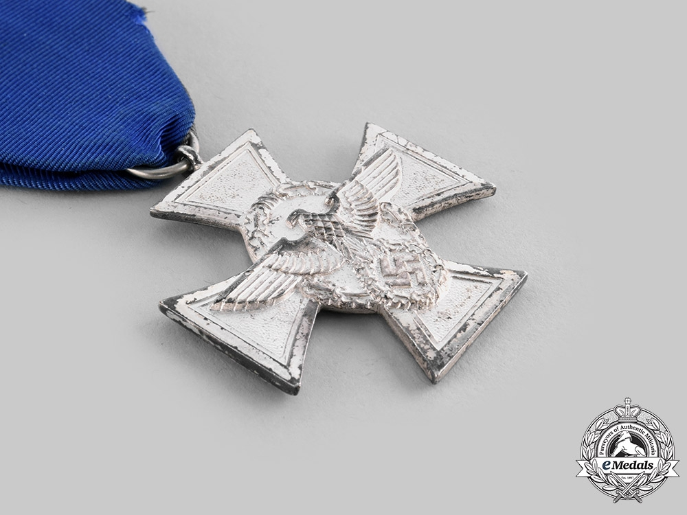 Germany, Third Reich. A Pair of Long Service Decorations