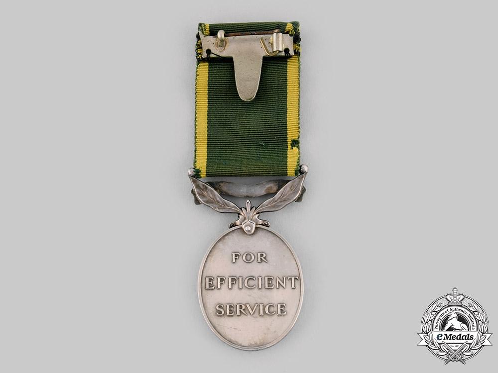 United Kingdom. An Efficiency Medal, Ceylon Light Infantry