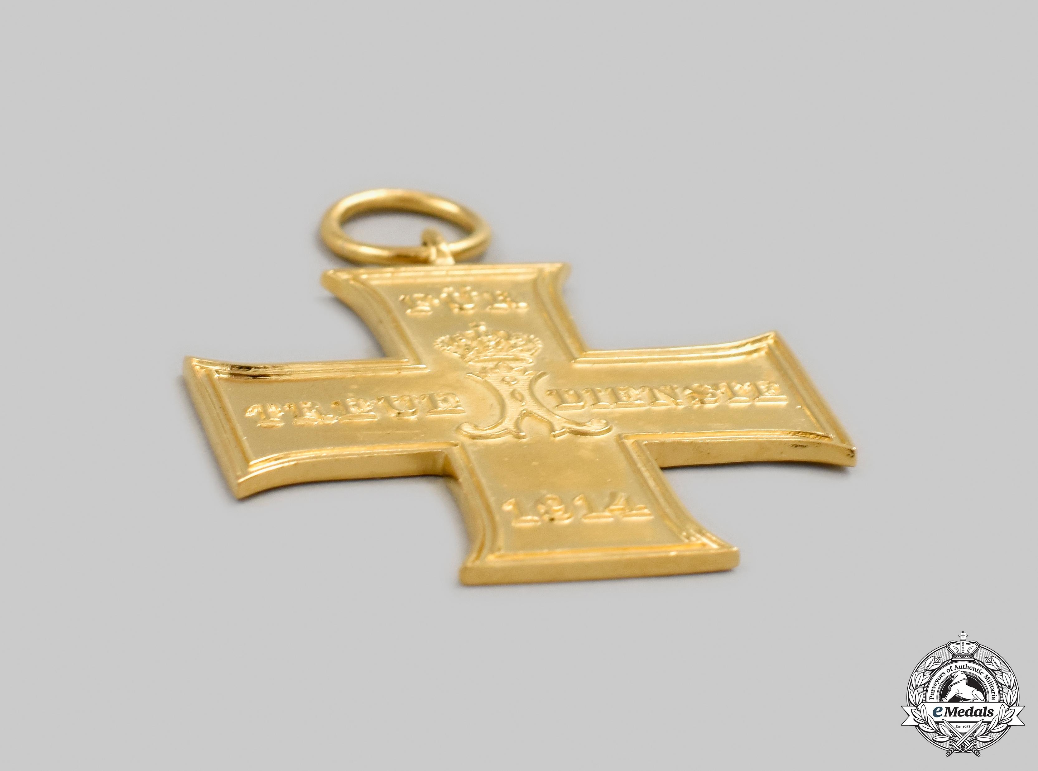 Schaumburg-Lippe, Principality. A Faithful Service Cross of 1914