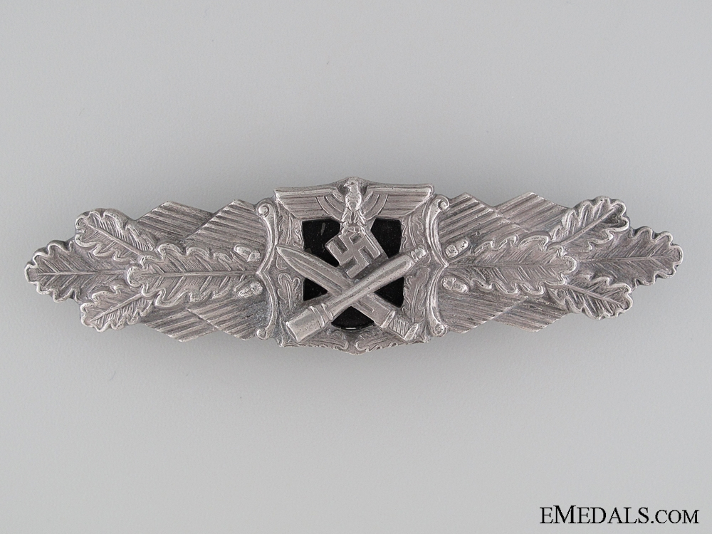Close Combat Clasp; Silver Grade by Rudolf Souval