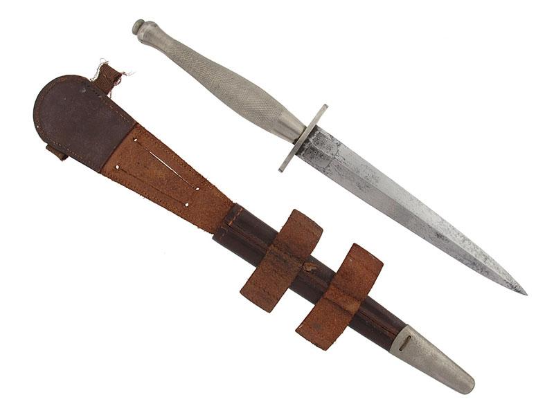 WWII RCAF Fairbairn-Sykes Fighting Knife - W.O. McKinnon