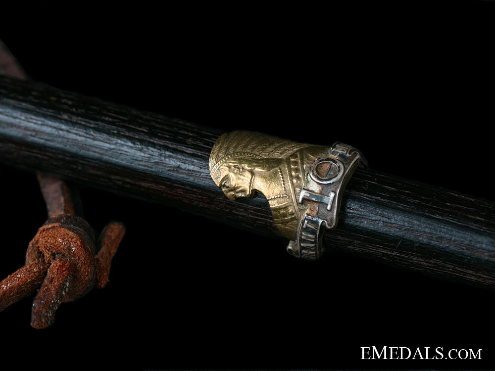 A 10th Brant Dragoons First War Swagger Stick