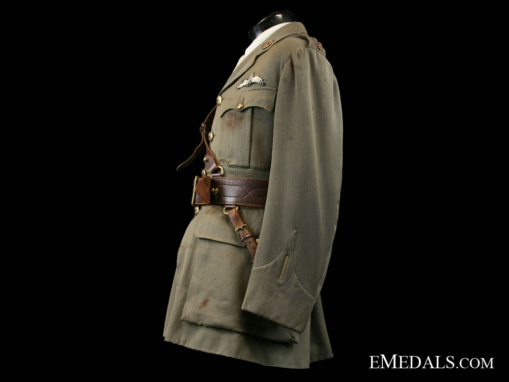 Royal Flying Corps Uniform to Canadian Fighter Ace Lt. John Henry Smith