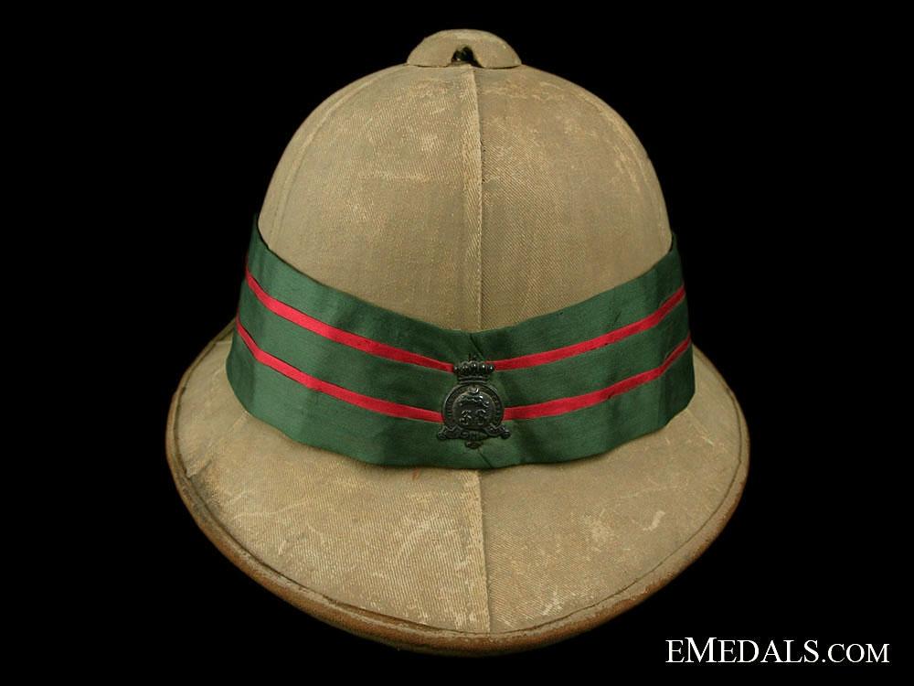Model 1902 Wolseley Pattern Helmet to the 38th Dufferin Rifles of Canada