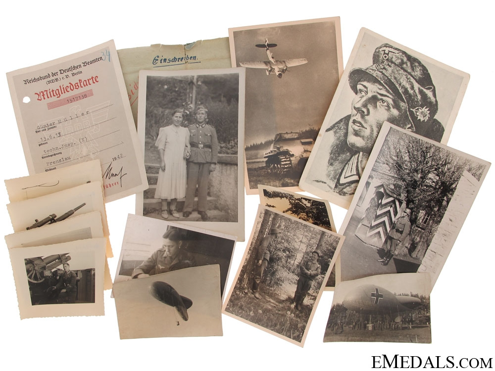 Collection of German Postcards & Photos