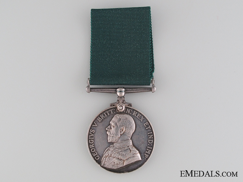 Colonial Auxillary Forces Long Service Medal; Canadian Fusilier