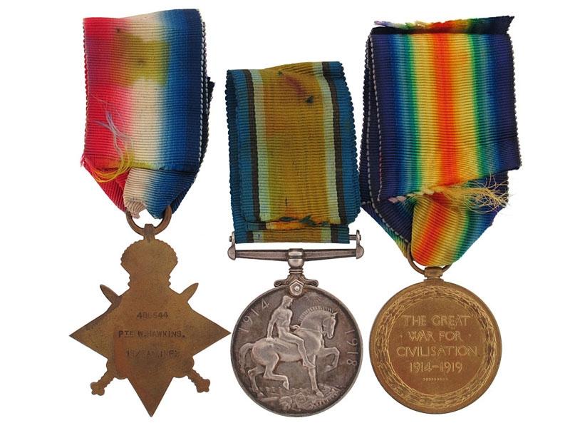 19th Infantry Battalion Trio