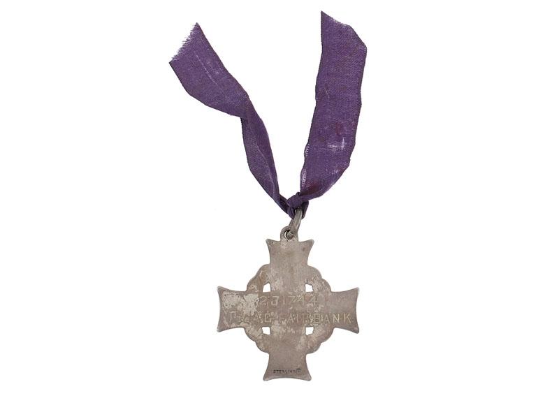Memorial Cross- Passchendaele Casualty