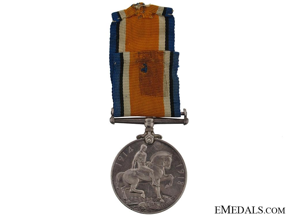 WWI British War Medal - British West Indies Regiment