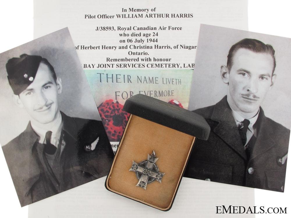 The Memorial Cross of Pilot Officer Herbert Harris