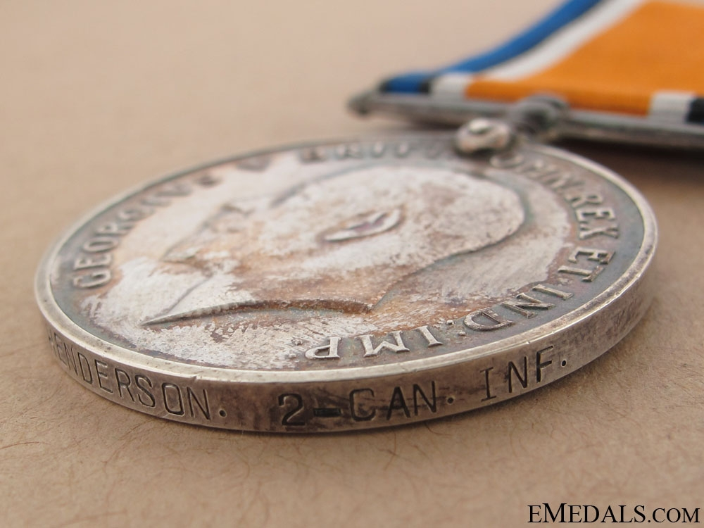 1914-1918 War Medal - Wire Party KIA