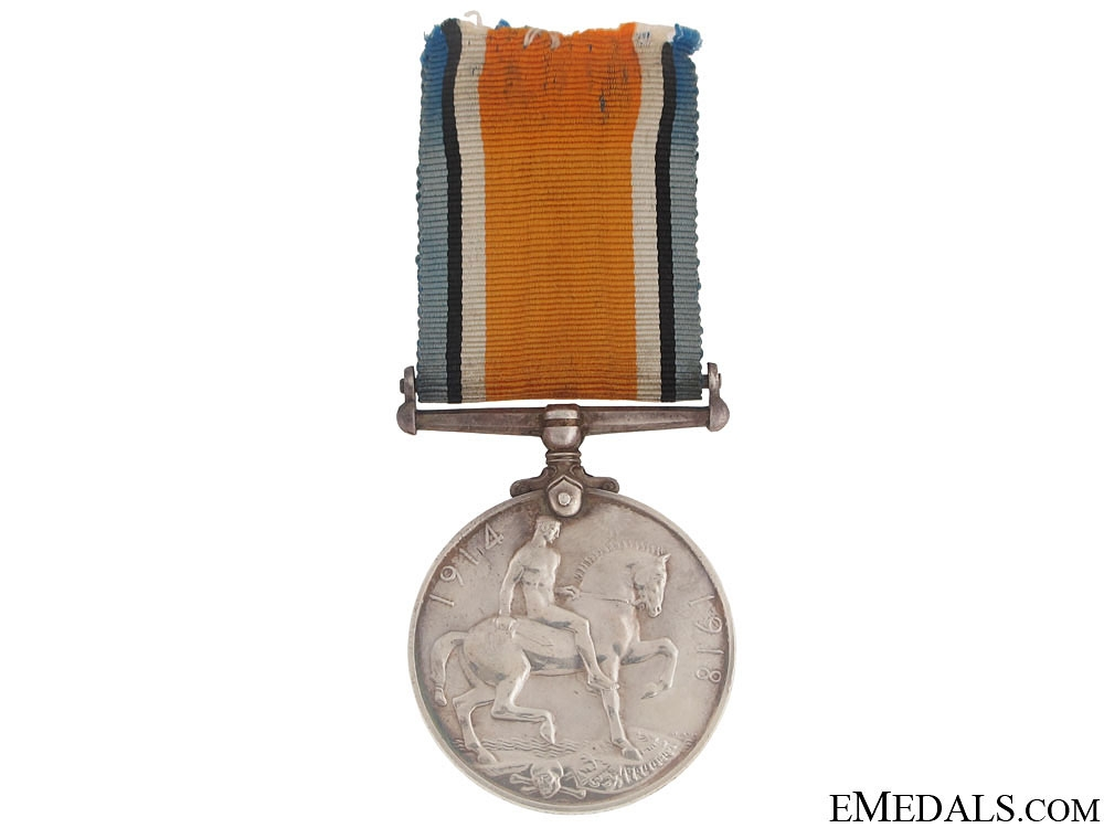 British War Medal -  Pte. W. Piper 2-Can.Inf.