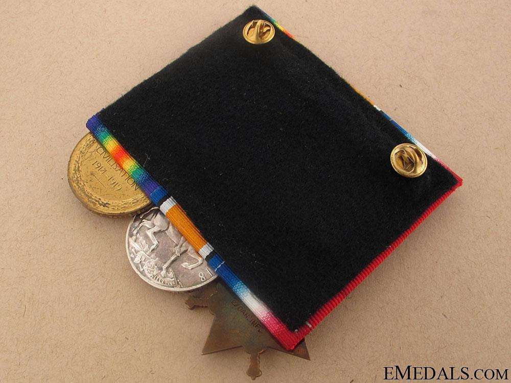 First War Trio- 2nd Canadian Infantry, KIA