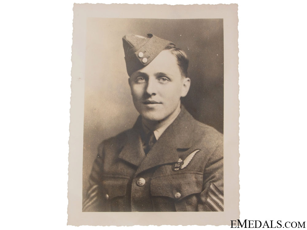 WWII Group to Air Gunner Williams RCAF