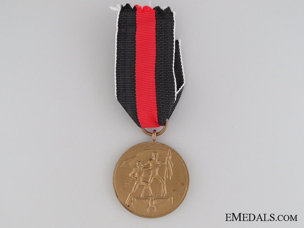 Commemorative Medal for 1 October 1938