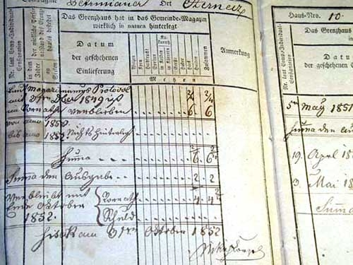 ARMY BOOK 1850'S MATO KRISKOVIC