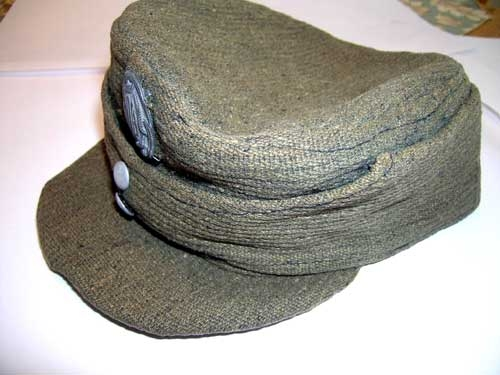 CROAT ARMED FORCES FIELD CAP  WWII