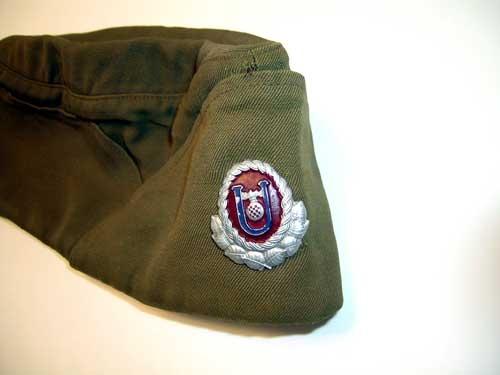 USTASHA OFFICER'S SIDE CAP WWII