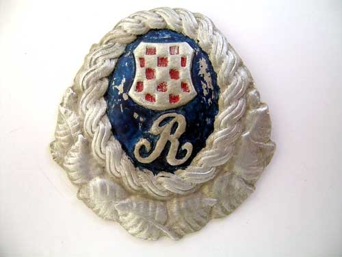 POLICE GUARD BADGE
