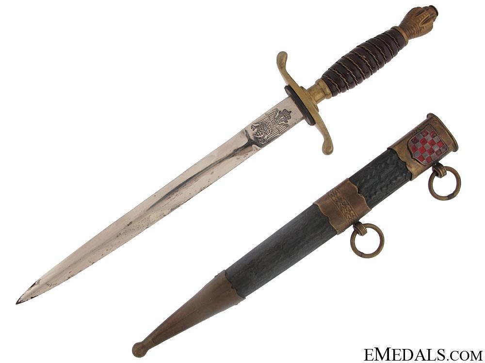 Early Croatian Dagger 1941