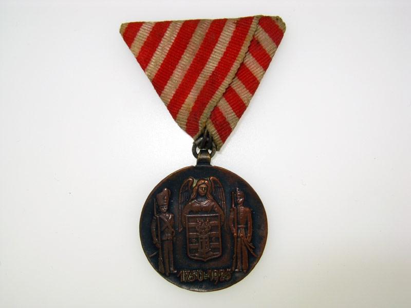 Commemorative Medal of the Varazdin