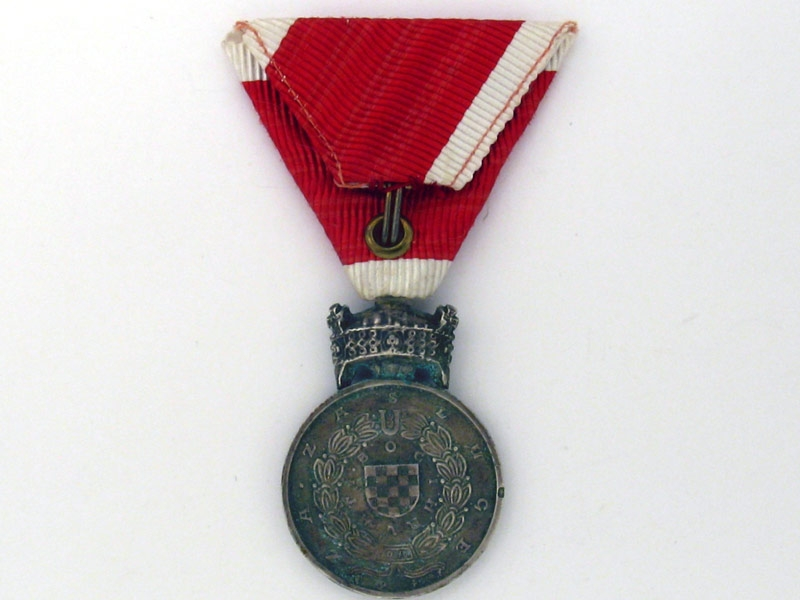 Merit Medal of King Zvonimir WWII