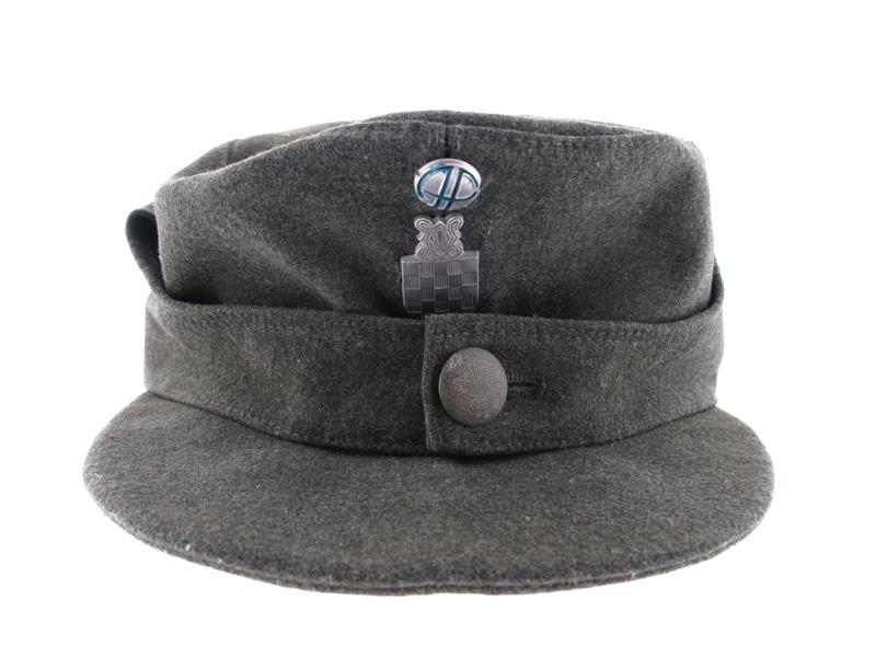 Ustasha Elite Troops Cap