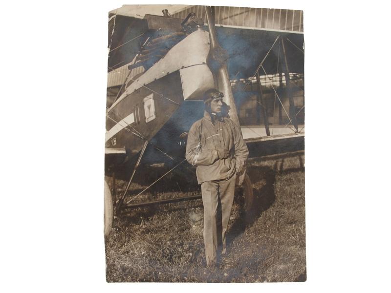 An early photographs of pilot KIRASIĆ