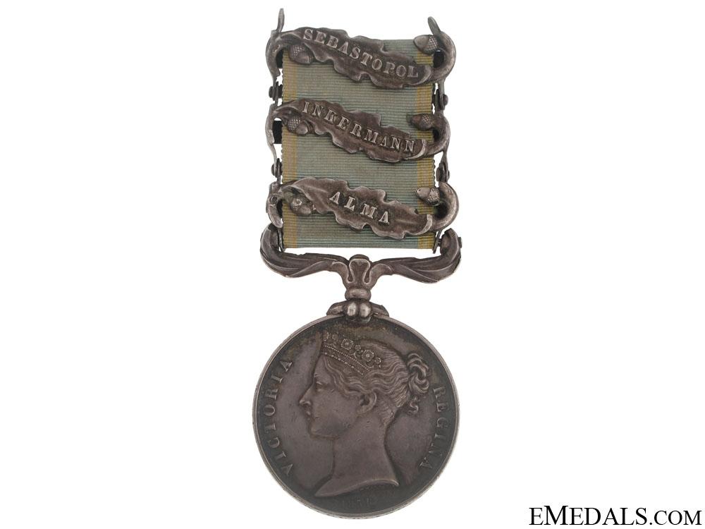 Crimea Medal 1854-56 - 3 Clasps