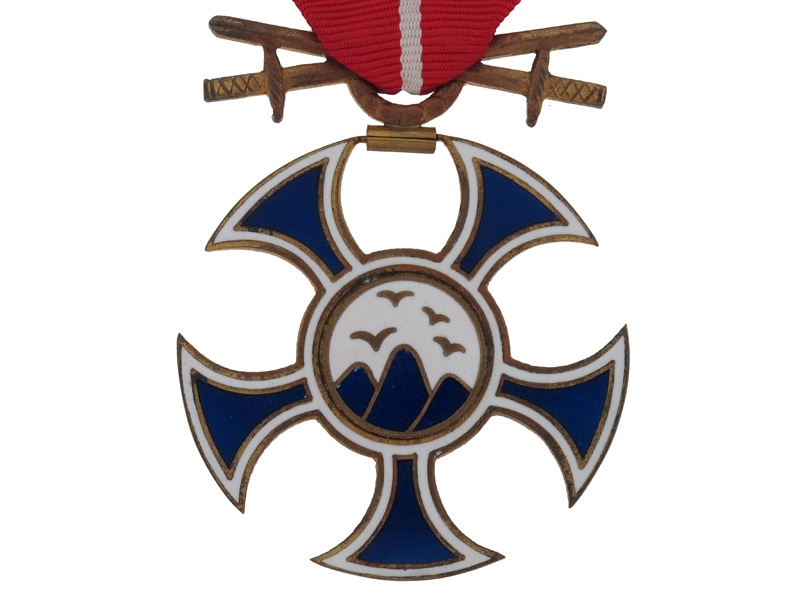 Order of the Falcon with Swords
