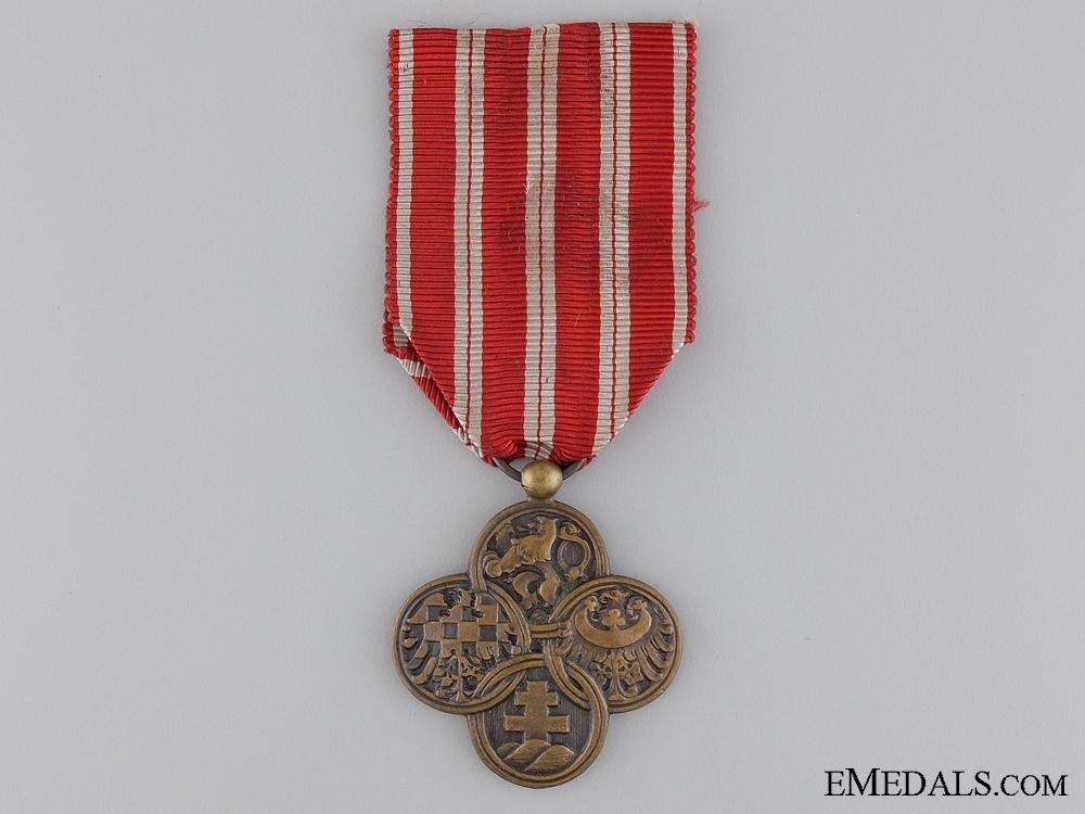 Czechoslovakian War Cross 1914-1918, Type I (1918-1920)