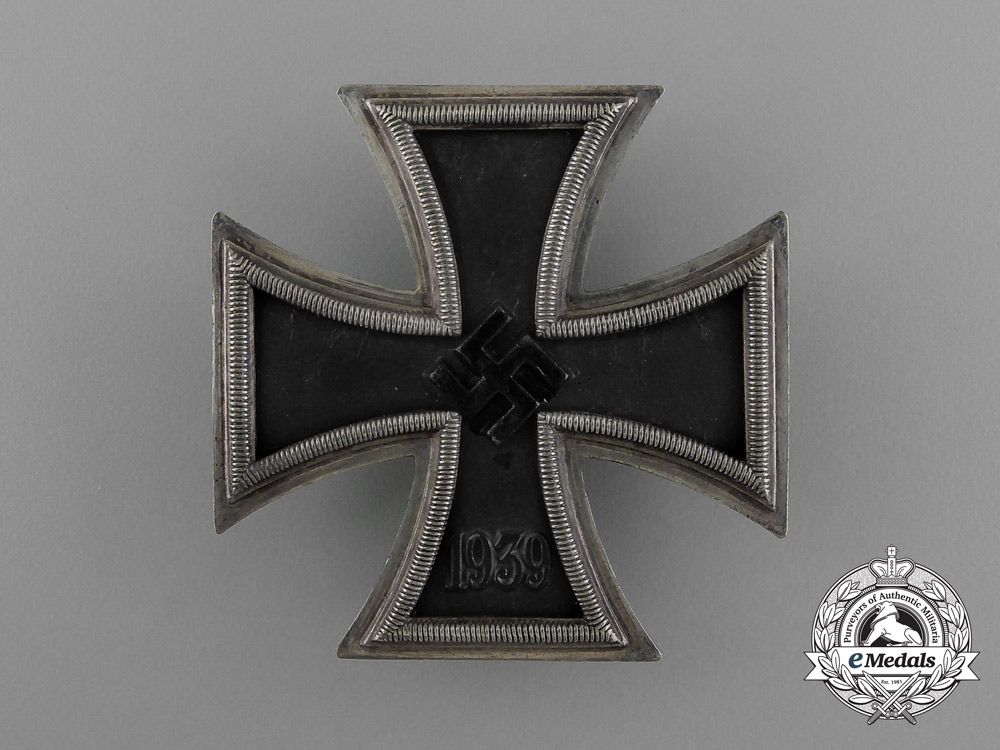 A Iron Cross 1939 First Class in its Original Case of Issue