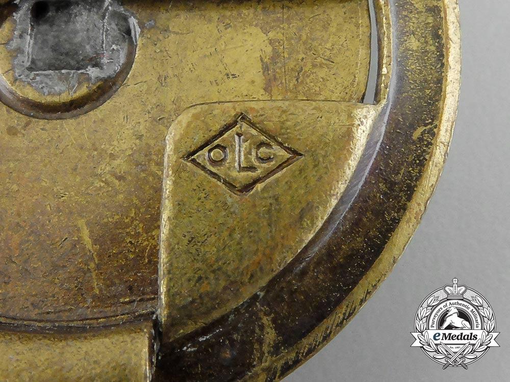 An Unattributed German Second War Belt Buckle by Overhoff & Cie