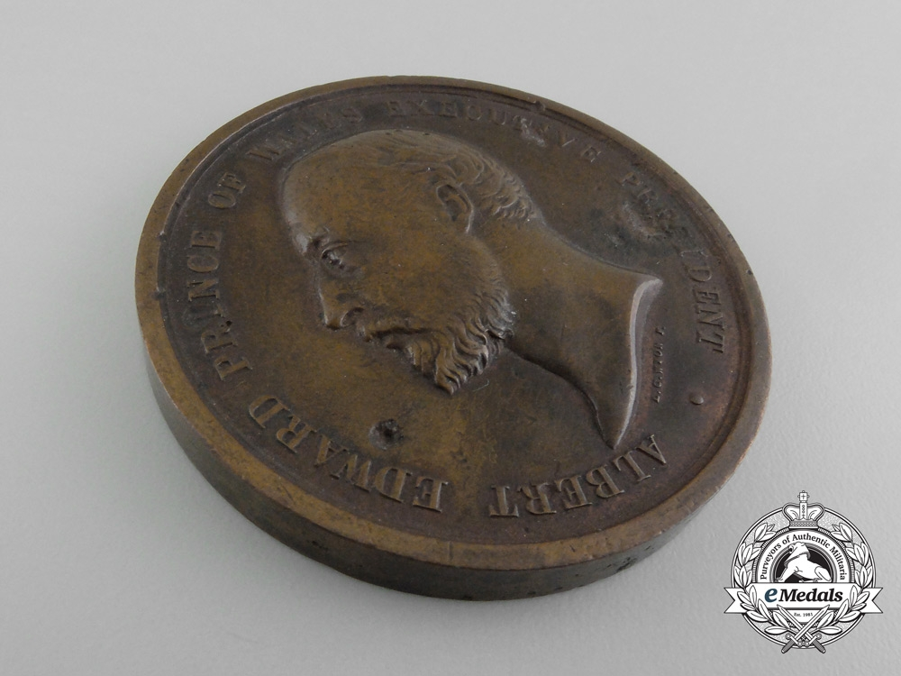 United Kingdom. An 1886 British Colonial and Indian Exhibition Prize Medal