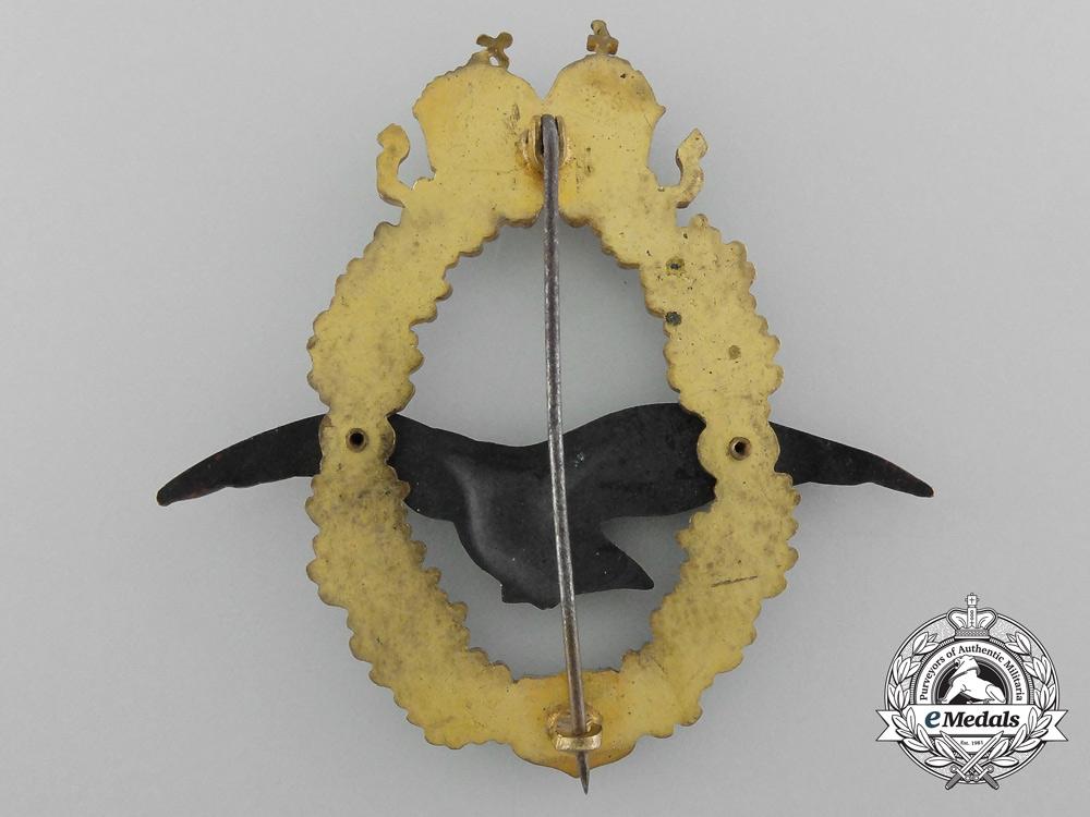 Austria, Imperial A Pilot's Badge 1917-18