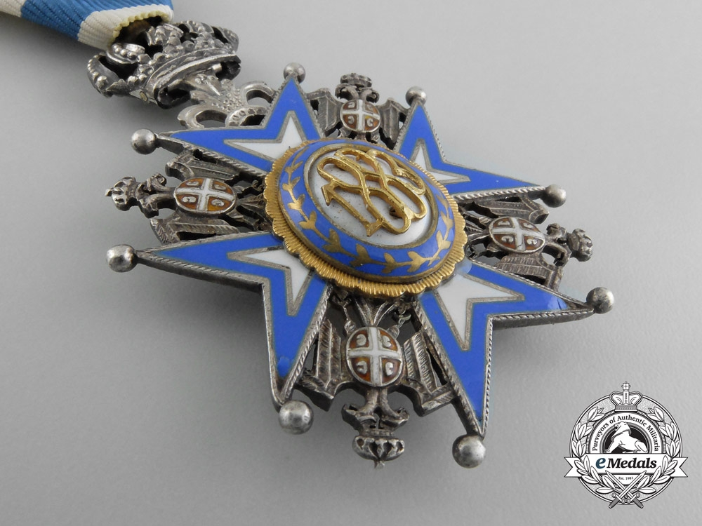 A Serbian Order of St. Sava; Knight (1921-1941)
