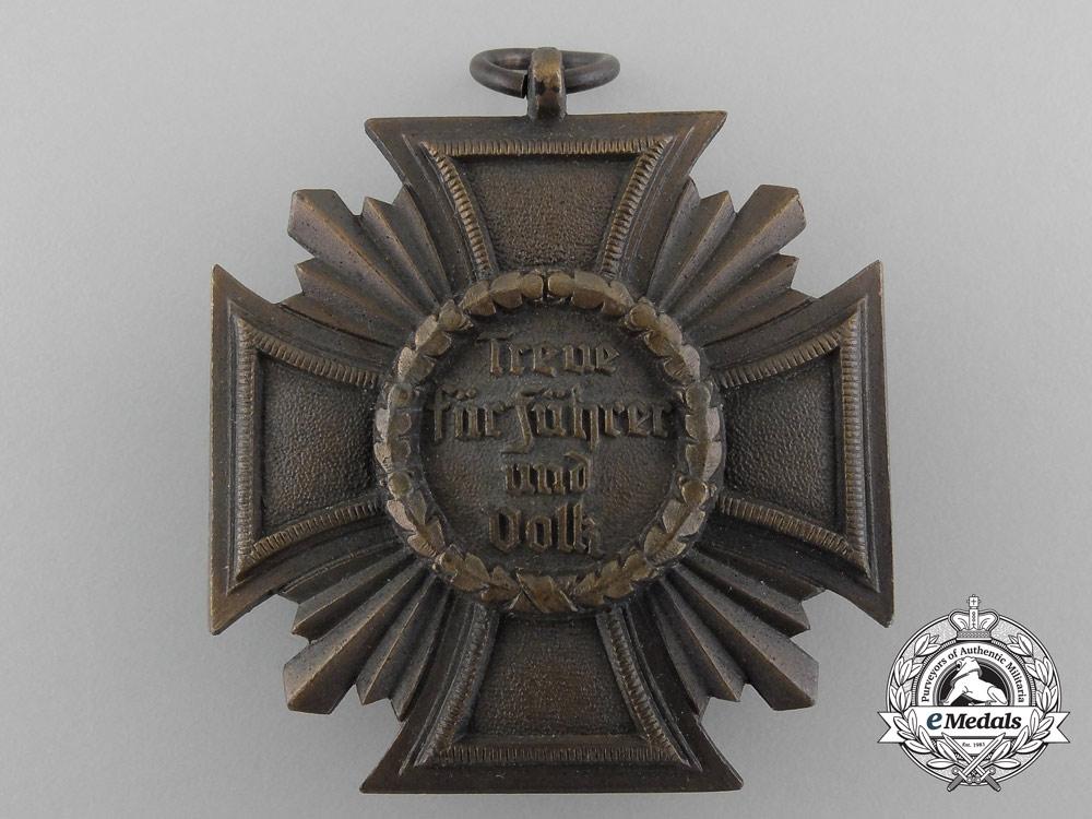 A NSDAP Bronze 10-Year (3rd Class) Long Service Award